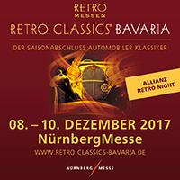 Quadix auf der Retro Classic Bavaria in Nürnberg vom 08.12.-10.12.