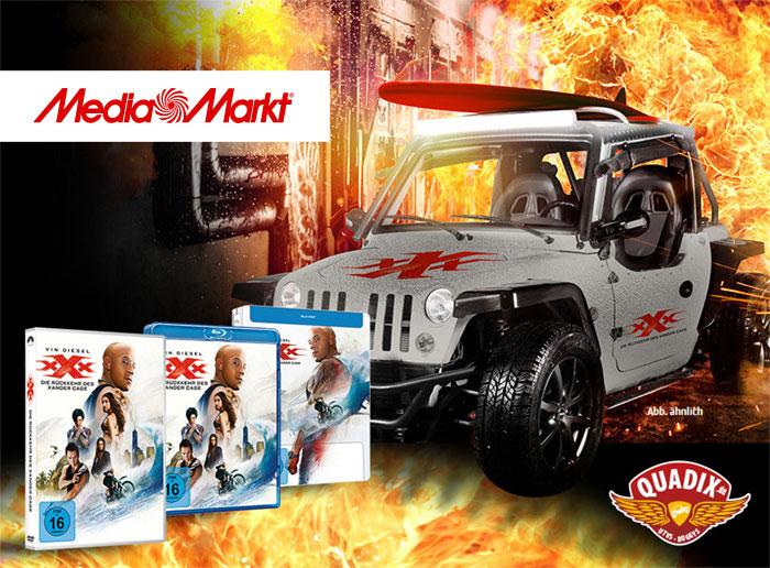 MediaMarkt Gewinnspiel zum DVD-Start von xXx – Die Rückkehr des Xander Cage