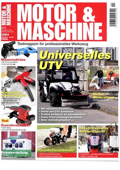 Testbericht Motor & Maschine – Trooper 800