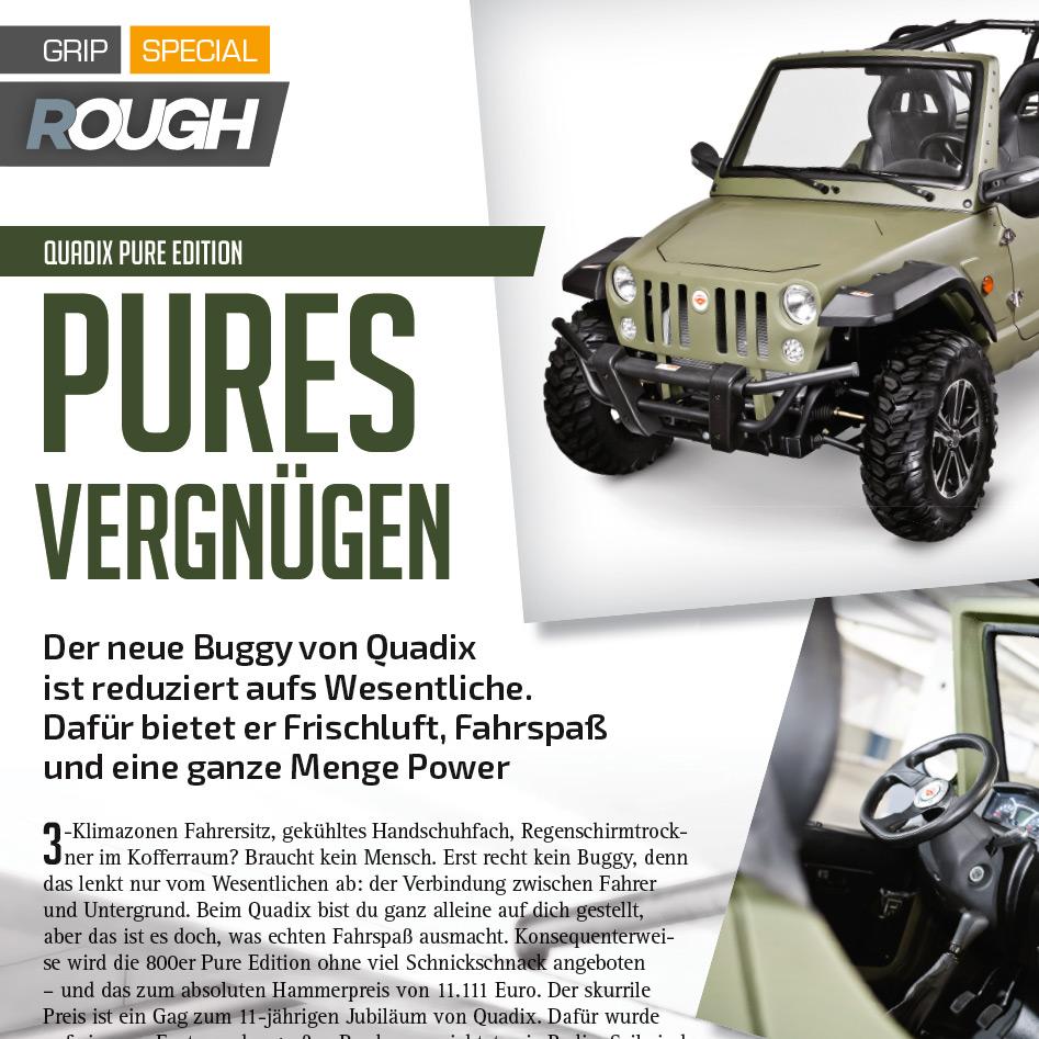 Grip-Magazin begeistert von Pure Edition