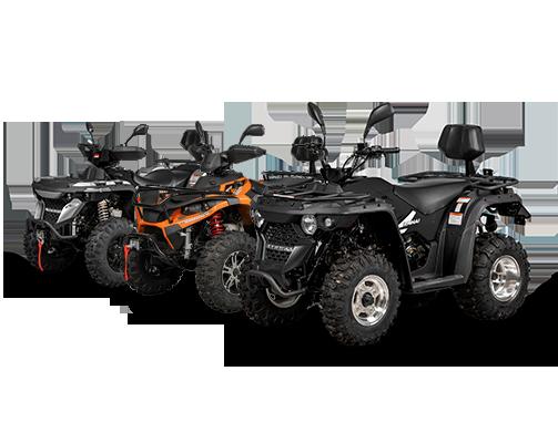 LINHAI ATVs - Quadix